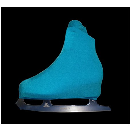 Cache-patins - Lycra Turquoise