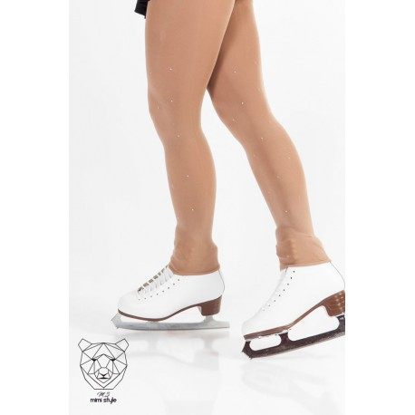 Collants Mimi Style Sans Pieds Strass